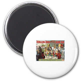 Ringling Brothers Circus Joan of Arc Spectacular 2 Inch Round Magnet