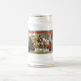 Ringling Brothers Circus Joan of Arc Spectacular Beer Stein