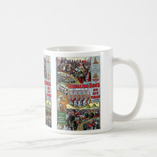 Ringling Brothers Parade Sections 1899 Retro Theat Coffee Mugs
