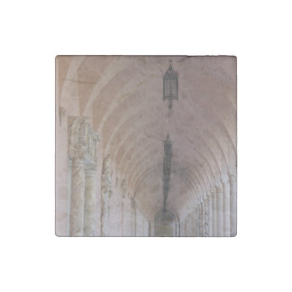 Ringling Corridor Stone Magnet
