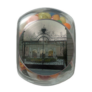 Ringling Gate Glass Candy Jars