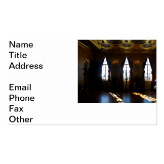 Ringlings Ballroom Double-Sided Standard Business Cards (Pack Of 100)