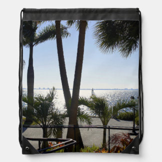 Ringlings View Drawstring Bag