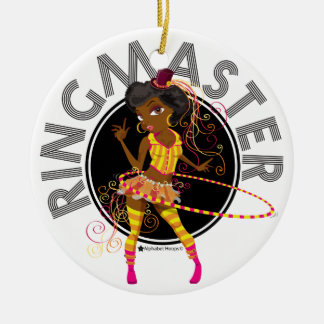 Ringmaster (Afro) ornament