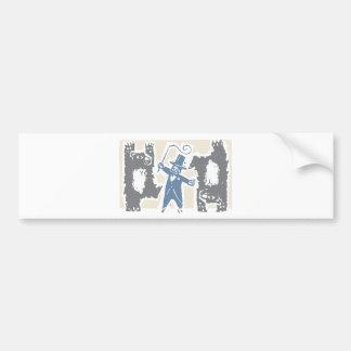 Ringmaster and Bears Bumper Sticker