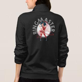 Ringmaster (Brunette) Fleece Zip Jogger Tshirts