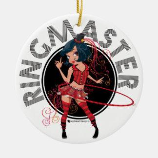 Ringmaster (Brunette) ornament