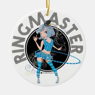 Ringmaster (Silver) ornament