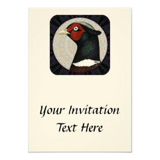 Ringneck Pheasant Circle Card