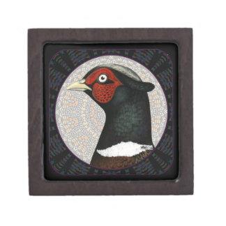 Ringneck Pheasant Circle Premium Gift Box