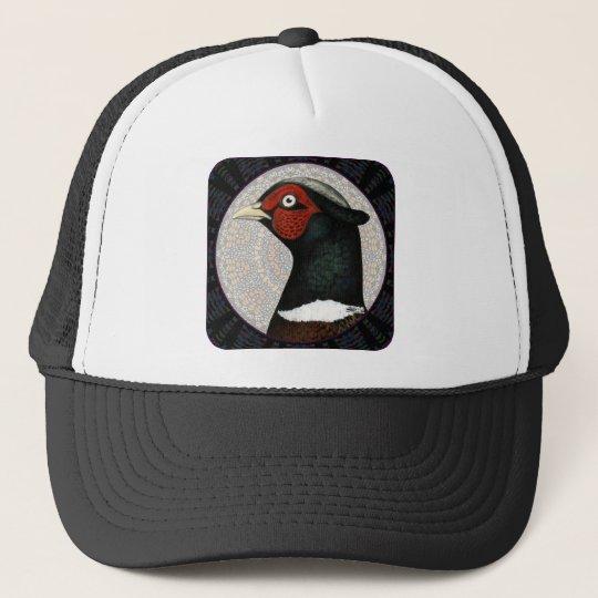 Ringneck Pheasant Circle Trucker Hat