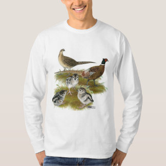 Ringneck Pheasant Family T-Shirt
