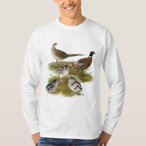 Ringneck Pheasant Family T Shirt
