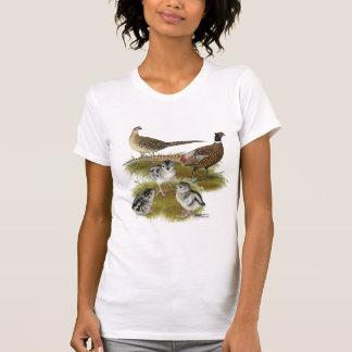 Ringneck Pheasant Family Tee Shirt
