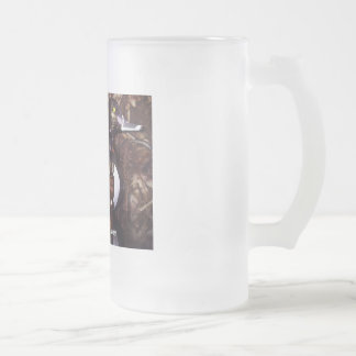 RINGNECKCALLSADDY - Customized Frosted Glass Beer Mug