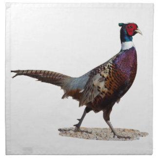 Ringnecked Pheasant Cloth Napkin
