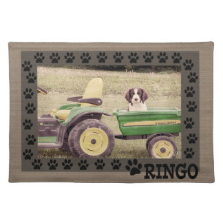 Ringo and the Tractor Dog Placemat