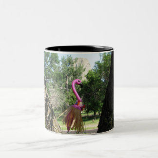 Ringo Flamingo Two-Tone Coffee Mug