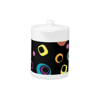 Rings Abstract art Teapot