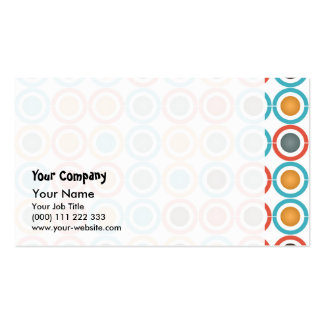 Rings and balls business card