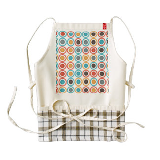 Rings and balls zazzle HEART apron