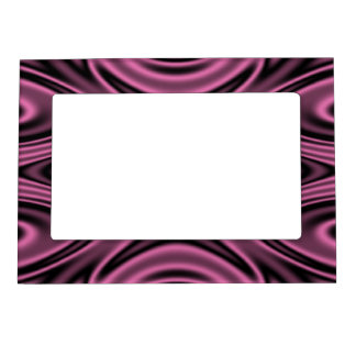 Rings and Ripples Pink Magnetic Frame