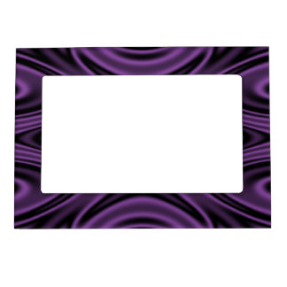 Rings and Ripples Purple Magnetic Frame