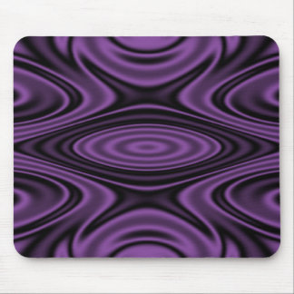 Rings and Ripples Purple Mouse Pad