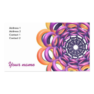 Rings Around the Ring Business Card