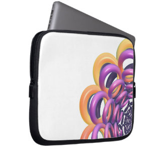 Rings Around the Ring Laptop Sleeve