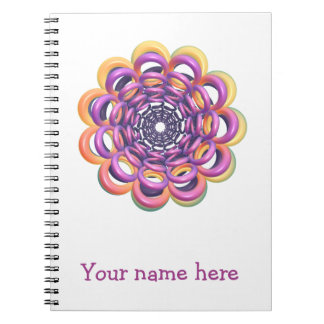 Rings Around the Ring Notebook