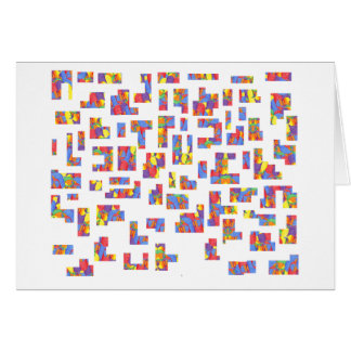 Rings Galore Jigsaw Puzzle Card