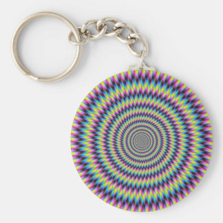 Rings Of Color Key Chain