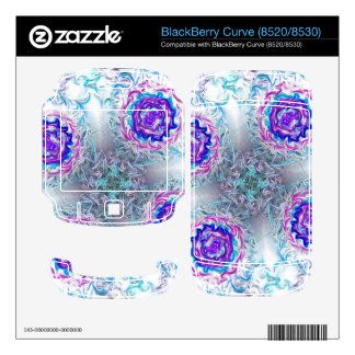 Rings of Fire and Ice BlackBerry Curve Decals