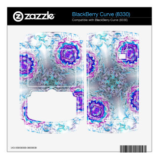 Rings of Fire and Ice BlackBerry Curve Skins