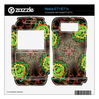 Rings of Fire Decal For Nokia E71x