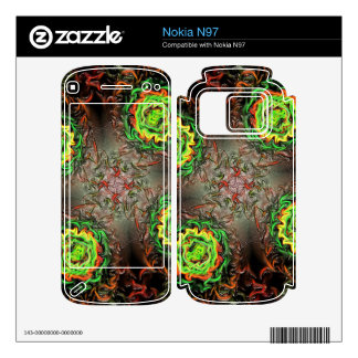 Rings of Fire Skin For The Nokia N97