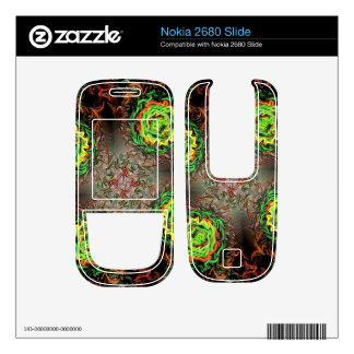 Rings of Fire Nokia 2680 Slide Skins