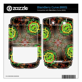 Rings of Fire Skin For BlackBerry Curve