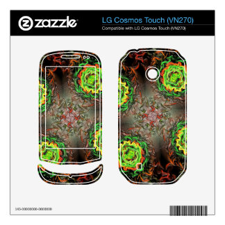 Rings of Fire Decal For LG Cosmos Touch