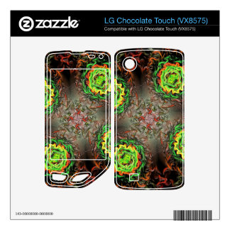 Rings of Fire LG Chocolate Touch Decals