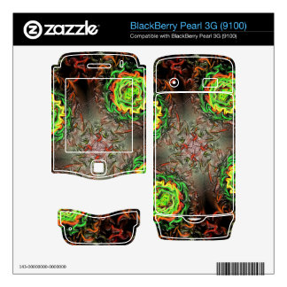 Rings of Fire Decal For BlackBerry