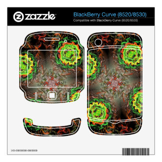 Rings of Fire BlackBerry Skins