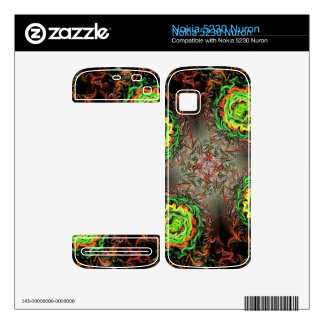 Rings of Fire Nokia 5230 Nuron Decal
