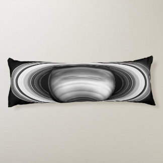 Rings of Gas Giant Saturn - solar system Body Pillow