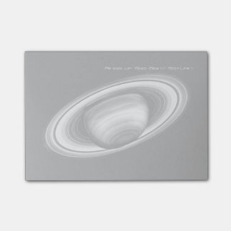 Rings of Gas Giant Saturn - solar system Post-it Notes