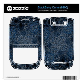 Rings of Ice Decal For BlackBerry