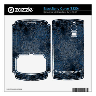 Rings of Ice Decals For BlackBerry
