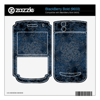 Rings of Ice BlackBerry Decals