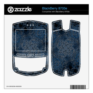 Rings of Ice BlackBerry 8703e Decals